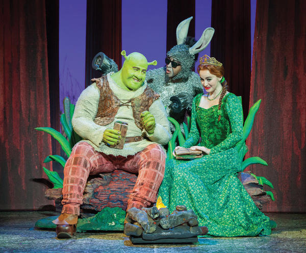 Shrek the Musical will be staged at 7:30 p.m. Tuesday, Dec. 18, at H. Ric Luhrs Performing Arts Center at Shippensburg University, 1871 Old Main Drive, Shippensburg, Pa.