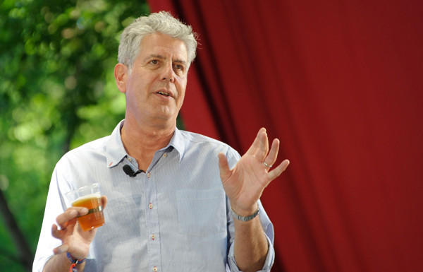 "Anthony Bourdain ended his seven-year run on ""No Reservations,"" his travel and food show, with a bang. On his way out from the Travel Channel, he ripped the station's executives for ""cynically and cheaply"" repurposing footage from his show for advertising. Read more about <a href=""http://www.latimes.com/entertainment/tv/showtracker/la-et-st-anthony-bourdain-blasts-travel-channel-20121113,0,6766461.story"" target=""_blank"">Bourdain's rant and his plans here</a>."