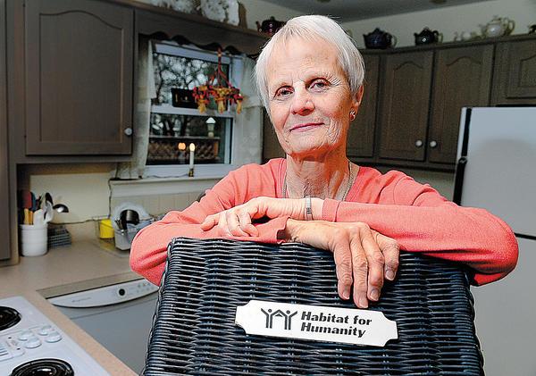 Eileen Beck volunteers with Habitat for Humanity of Washington County.