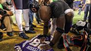 Adrian Peterson storms back from injury