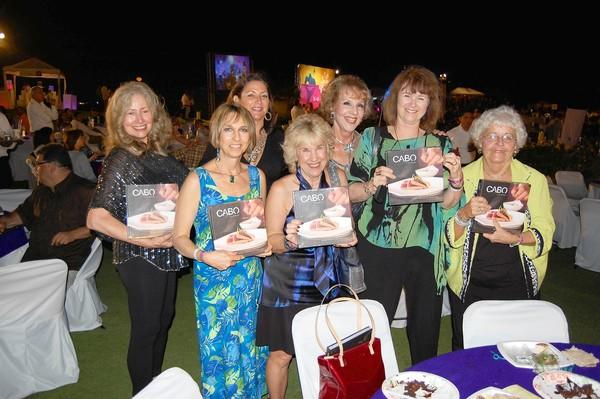 Karyn Philippsen, Michele Monda, Fabiola Kinder, Betsy Jenkins, Pat Kollenda, Nancy Beverage and Carol Reynolds.