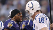 If the scariest man in the NFL isn't Baltimore linebacker Ray Lewis, it might be Denver quarterback Peyton Manning.