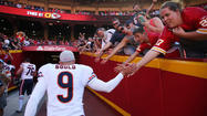 Robbie Gould in action
