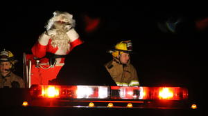 Emergency responders give back at annual Santa Run in Botetourt County