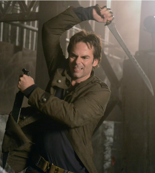 Midseason report card: Which new Fall 2012 TV series are making the grade?: What we said then: The track records of the people in front of and behind the camera on Revolution will probably keep us watching for at least a few more weeks. But a cool premise can only take a show so far, and theres some work to do on the character front.  What we say now: Although the show is still plagued by logic questions and cheesy action scenes, and its consistently upstaged on the post-apocalyptic action-drama front by The Walking Dead, Revolution has at least managed to keep its story moving forward at a steady pace and developed satisfyingly complex characters for cast standouts Billy Burke, Elizabeth Mitchell and Giancarlo Esposito. As for the others, well, killing off characters is always a good way to keep the audience guessing, right?  -- Geoff Berkshire, Zap2it