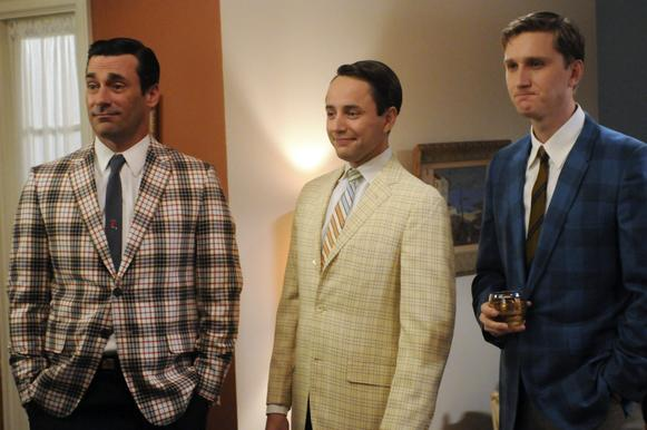"After a long, successful run of wins and nominations for best drama series, this year ""Mad Men"" came up short. The AMC series grabbed a nomination for Jon Hamm, left, but none for the series itself or any of the other cast members."