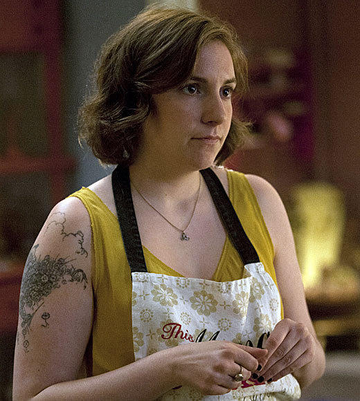 "<b>Winner: Lena Dunham, ""Girls""</b><br> Zooey Deschanel, ""New Girl""<br> Julia Louis-Dreyfus, ""Veep""<br> Tina Fey, ""30 Rock""<br> Amy Poehler, ""Parks and Recreation"""