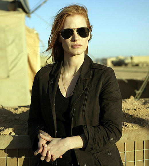 "<b>Winner: Jessica Chastain, ""Zero Dark Thirty"" </b><br> Marion Cotillard, ""Rust and Bone""<br> Helen Mirren, ""Hitchcock""<br> Naomi Watts, ""The Impossible""<br> Rachel Weisz, ""The Deep Blue Sea"""