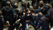 Spain austerity protests