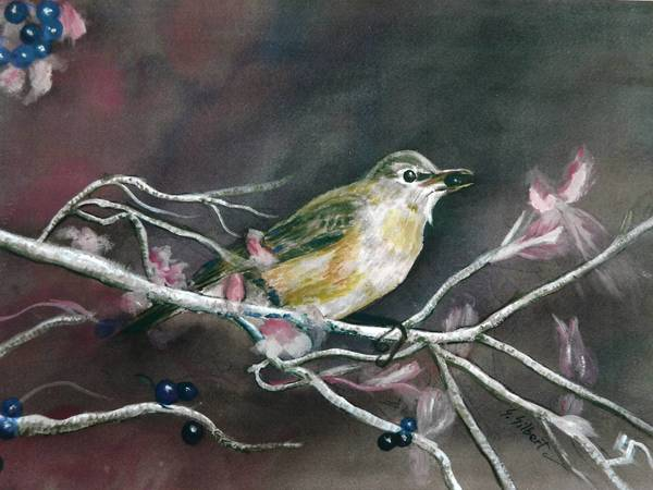"""Chirp"" by Sandy Silbert of the POW Artists"
