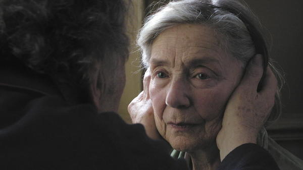 "Her work is devastating in Michael Haneke's ""Amour,"" opening in January. The Best Actress, drama, category is packed (Chastain, Cotillard, Mirren, Watts, Weisz), but it's still a shame not to see Riva on there."