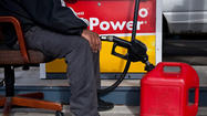 Wholesale prices slipped 0.8% last month for the second straight month as gasoline prices plunged.