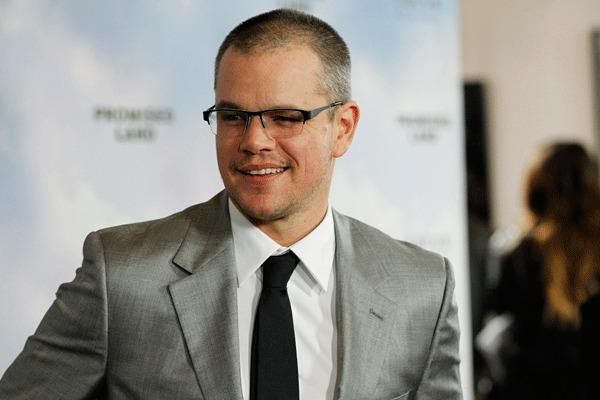 "Cast member Matt Damon poses at the premiere of ""Promised Land"" at the Directors Guild of America (DGA) in Los Angeles, California December 6, 2012."
