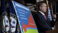 Defiant Boehner presses for 'fiscal cliff' cuts