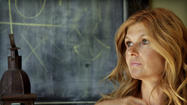 Connie Britton won't deny that a Golden Globe nomination is a pretty stellar achievement. But you'll forgive her if she's still preoccupied with there being an album out in the world with her voice on it.