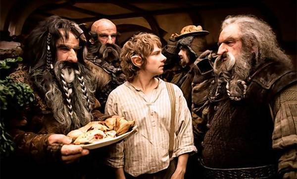 """The Hobbit"" is set to open in theaters."