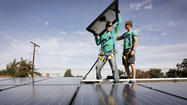 Bay Area clean-tech company SolarCity Corp. had an uncertain path to its initial public offering, delaying and adjusting the size of its debut this week, but the stock was off to a running start Thursday in its first day of trading.
