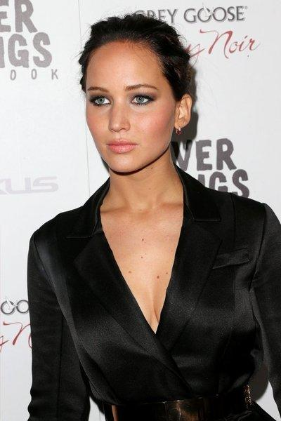 "Jennifer Lawrence at the ""Silver Linings Playbook"" premiere."