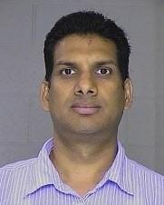 Booking photo of Srinivasa S. Erramilli.