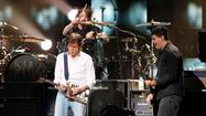 Paul McCartney, Nirvana members jam at '121212' concert