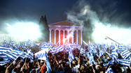 Election rally in Greece