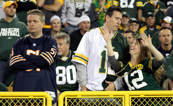 Bears fans and Packers fans can at least agree it's good to laugh at ourselves, right? Right. So we're asking die-hards for the best jokes insulting the other team.