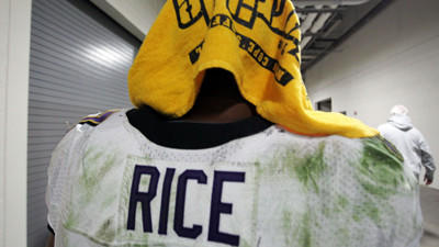 Steelers fan explains why he gave Ray Rice his Terrible Towel