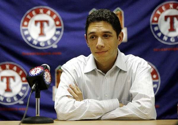 Texas Rangers General Manager Jon Daniels.