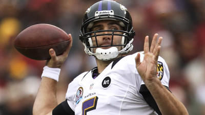 Joe Flacco acknowledges that he has to stop fumbling