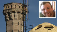 An autopsy today found that a man who plunged down a smokestack on the roof of a Michigan Avenue hotel died from injuries suffered in the fall, and his death has been ruled an accident.