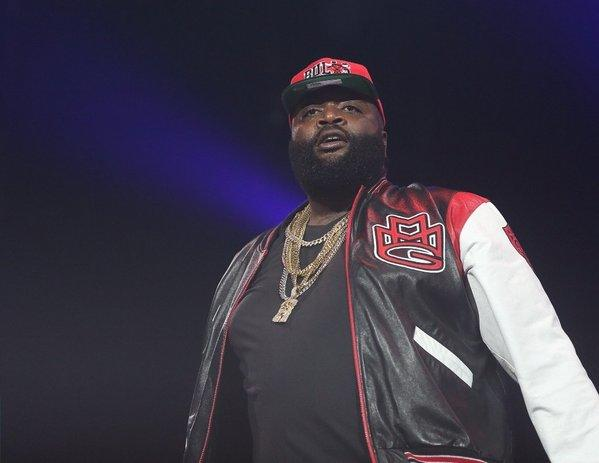 Rick Ross performs in Indianapolis on Nov. 20, 2012.