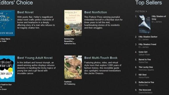 Apple's top books of 2012