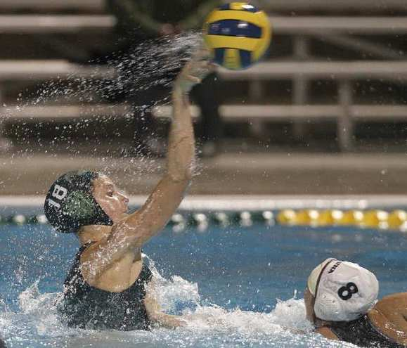 Edison High's Sabrina Jensen (18) scored three goals against Laguna Beach in a nonleague game.