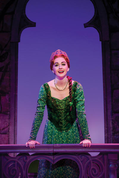 """Shrek The Musical"" is a family-friendly off-Broadway production based on a 2001 Oscar-winning film. The show will be staged Tuesday, Dec. 18, at the H. Ric Luhrs Performing Arts Center in Shippensurg, Pa. Whitney Winfield plays Fiona."