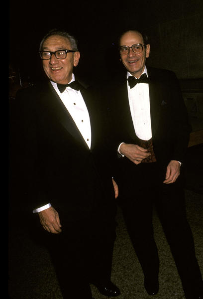 Notable deaths from 2012: Famed New York Times publisher Arthur Ochs Sulzberger, right, pictured with former Secretary of State Henry Kissinger in 1990, passed away at age 86. Sulzberger oversaw the Times for 34 years, including during its controversial publishing of the Pentagon Papers.