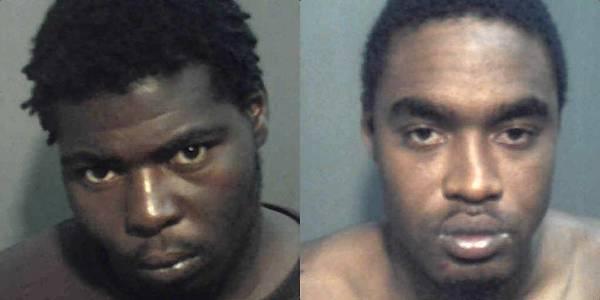 Jarvis Sear, 19, and Decaris Bailey-Barnett, 27.
