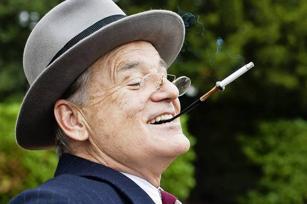 "Bill Murray stars as FDR in Roger Michell's historical tale ""Hyde Park On Hudson."""