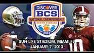 BCS national championship special section
