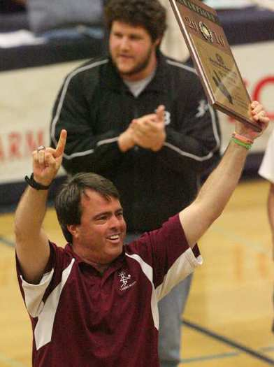Lance Stewart the Laguna Beach girls' volleyball program for 12 seasons (1989-90, 2003-2012). During that time, his teams won 10 league championships including eight straight between 2005 and this year.