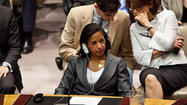 "<span class=""runtimeTopic"">WASHINGTON</span> – Susan Rice, who came under heavy criticism for her defense of the Obama administration after armed militants killed four Americans in Benghazi, Libya, withdrew her name from consideration for secretary of State on Thursday as the president began to narrow his choices for key Cabinet positions."