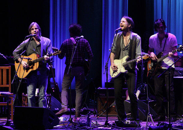 Jackson Browne and Jonathan Wilson