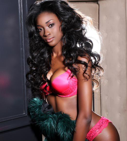 Miss Universe 2012 High Fashion Lingerie Pictures: Celeste Marshall, Bahamas