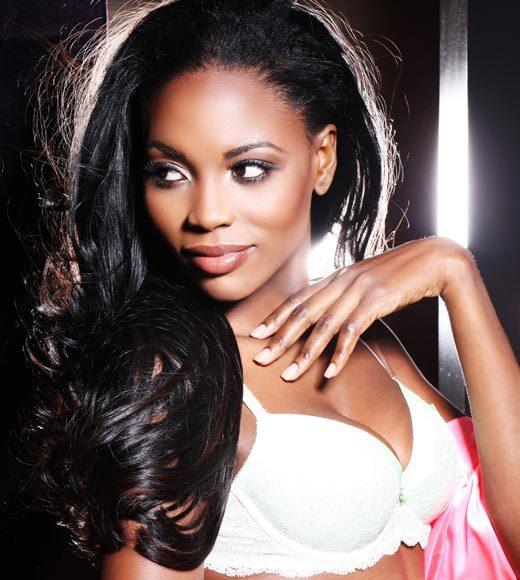Miss Universe 2012 High Fashion Lingerie Pictures: Marcelina Vahekeni, Angola