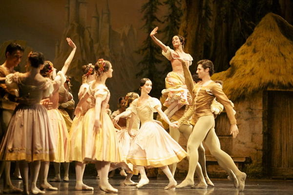 "Members of the Paris Opera Ballet perform ""Giselle."""