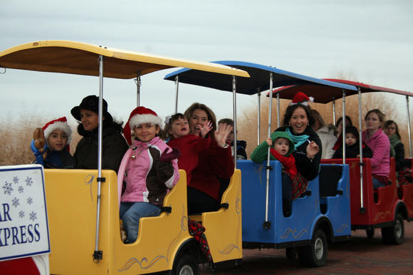 Toyland Parade and Polar Express are part of Yorktown Market Day festivities Saturday in Yorktown.