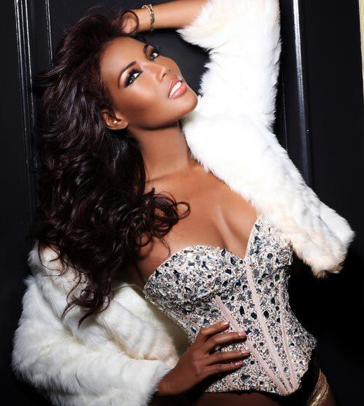 Miss Universe 2012 High Fashion Lingerie Pictures: Monifa Jansen, Curacao