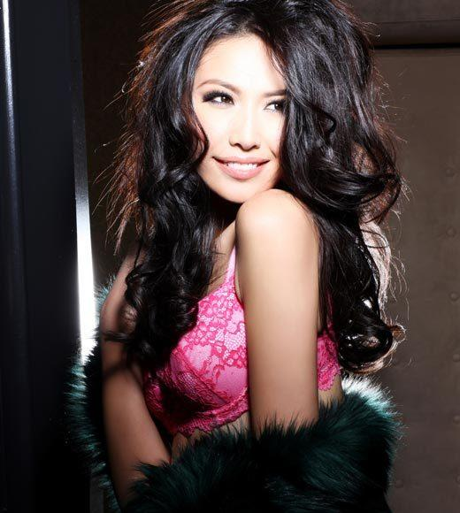 Miss Universe 2012 High Fashion Lingerie Pictures: Ji Dan Xu, China