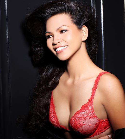Miss Universe 2012 High Fashion Lingerie Pictures: Alyssa Cruz Aguero, Guam
