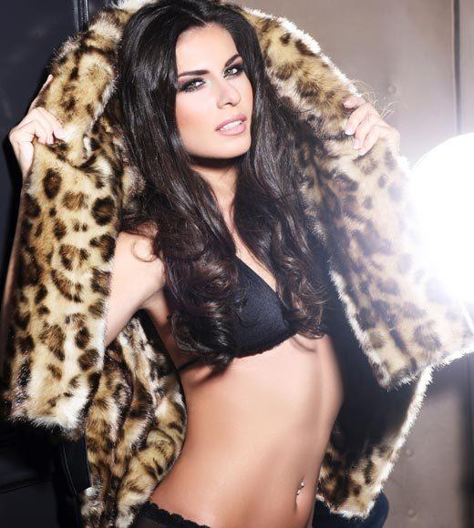 Miss Universe 2012 High Fashion Lingerie Pictures: Vasiliki Tsirogianni, Greece