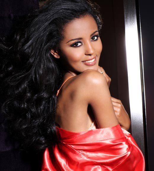 Miss Universe 2012 High Fashion Lingerie Pictures: Helen Getachew, Ethiopia